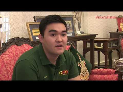 Raja Muda Selangor Tengku Amir Shah on SAY youth initiative