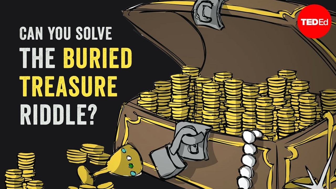 Can You Solve The Buried Treasure Riddle