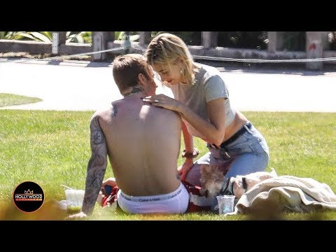 Justin Bieber And Hailey – All Over Each Other During Beachside Love Fest