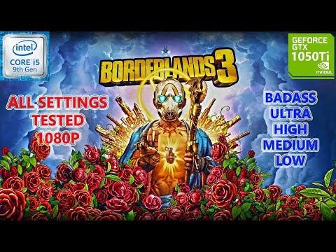 Borderlands 3 GTX 1050 Ti 4GB (All Settings Tested)  