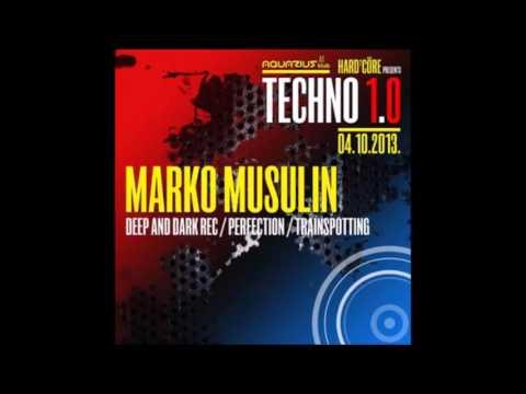 Marko Musulin - Live @ Hard²Core presents TECHNO 1.0, Aquarius, Zagreb, Croatia 04.10.2013.
