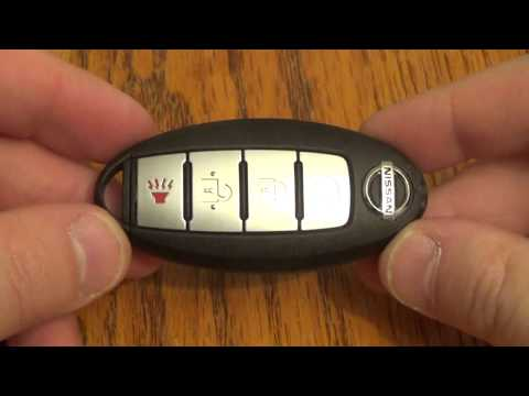 DIY – Nissan Key Fob Battery Change / Replacement Altima / Maxima / Senta