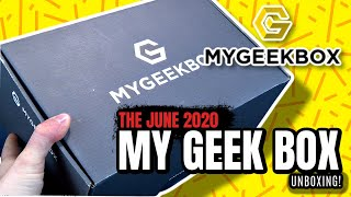 What's inside My Geek Box Subscription Box for July 2020?