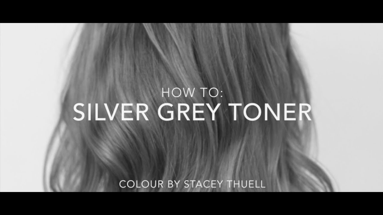 How To Get A Perfect Silver Grey Toner Using Fanola Youtube