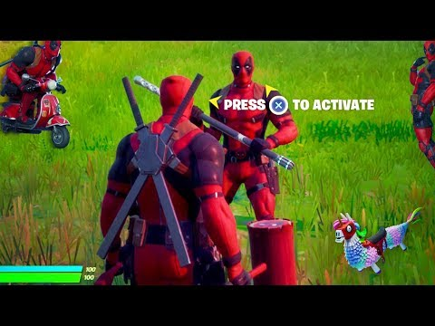 Fortnite Deadpool Skin Is NOW ACTIVATING!