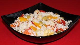 Salata od riže je tipična italijanska salata koja se priprema rado ...