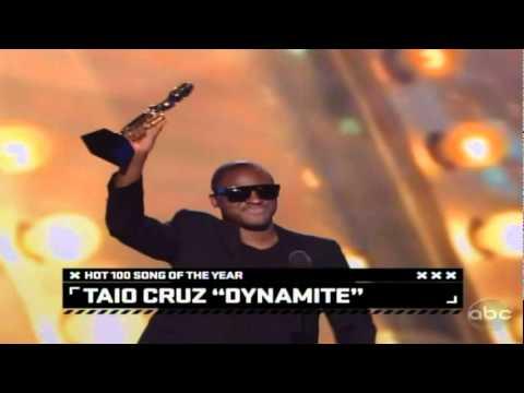 Taio Cruz named Billboards 100 artist- Billboard Music Awards 2011 PArt 6