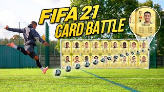 EXTREME FIFA ULTIMATE TEAM CARD BATTLE | FIFA 21 - BILLY Vs JEZZA 🔥🔥🔥