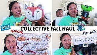 FALL HOME DECOR HAUL!!!  BIG LOTS, TJMAXX, ROSS & MORE