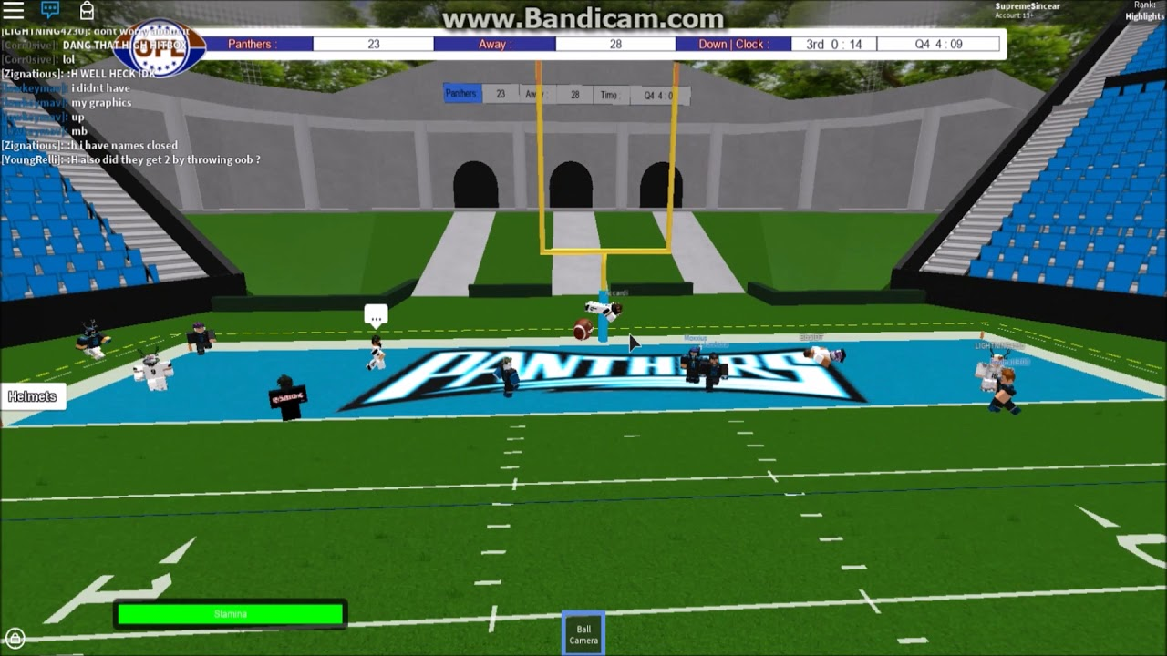 Ofl S15 W5 Korblox Snowhawks At Roblox Panthers Highlights - roblox ofl