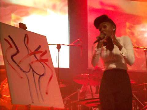 Janelle Monae, Mushrooms and Roses Live @Tripod, Dublin 01-Dec-10