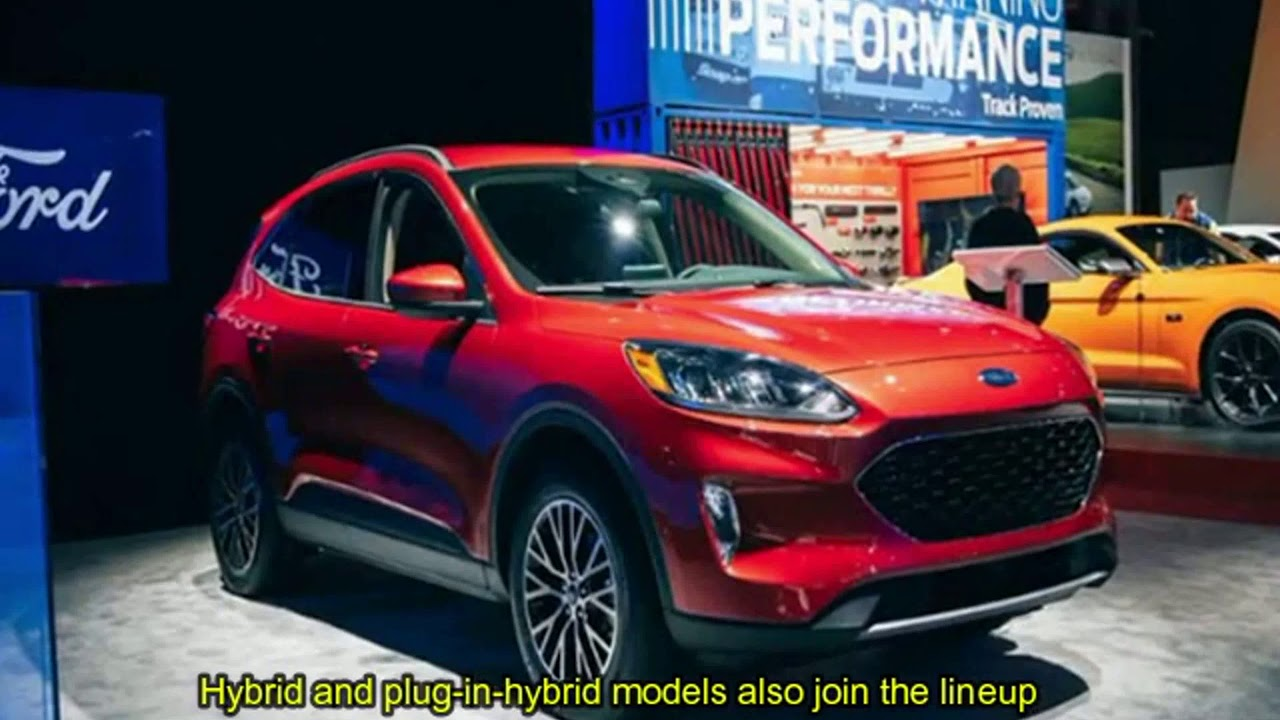 2020 Ford Kuga Plug-In Hybrid Is Coming Next Spring >> Ford Escape 2020 Review Interior Exterior Pics