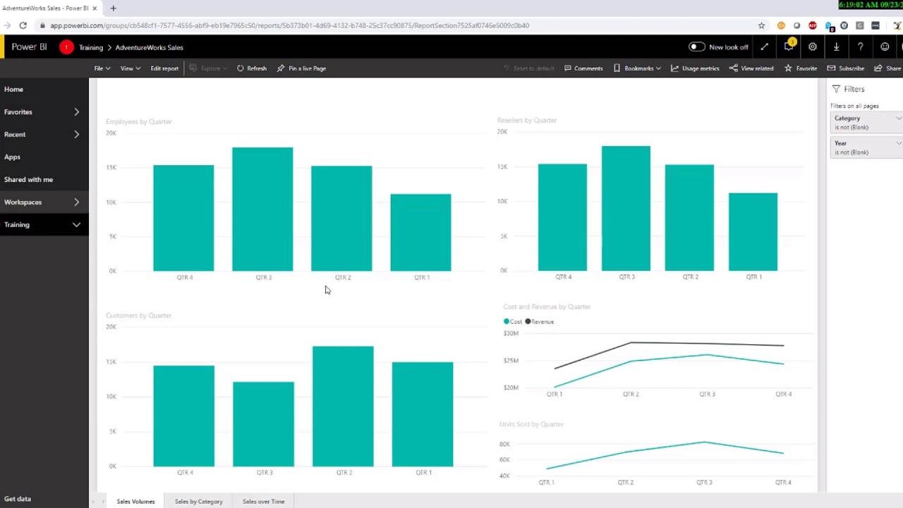 Add Power BI Reports to Microsoft Teams