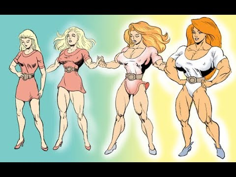 Superheroine Sexy Transformation A Save The Day Collection