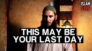 This may be your last day - Musa Cerantonio