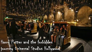 Harry Potter and the forbidden journey - FULL RIDE - Universal Studios Hollywood