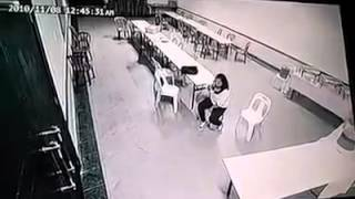 Most horrifying CCTV footage ever!   valiant fire safety