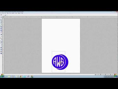"PE PRO - Monograms - Making A Simple Round ""seal Shape"" Monogram"