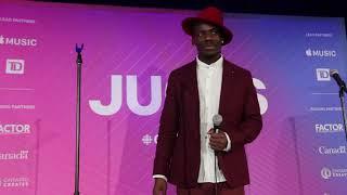 Chat w Wesli on winning World Music Album of the Year at 2019 Juno Gala Dinner & Award