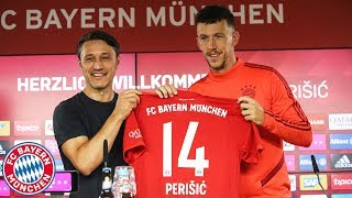 Presentation of Ivan Perišić w/ Niko Kovac | FC Bayern Press Conference
