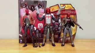Arkham Knight Red Hood figure review unboxing Jason Todd Batman DC Collectibles