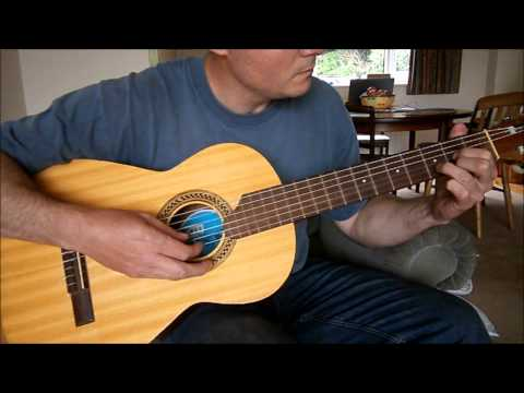 The Weary Kind, acoustic guitar - fingerpicking style