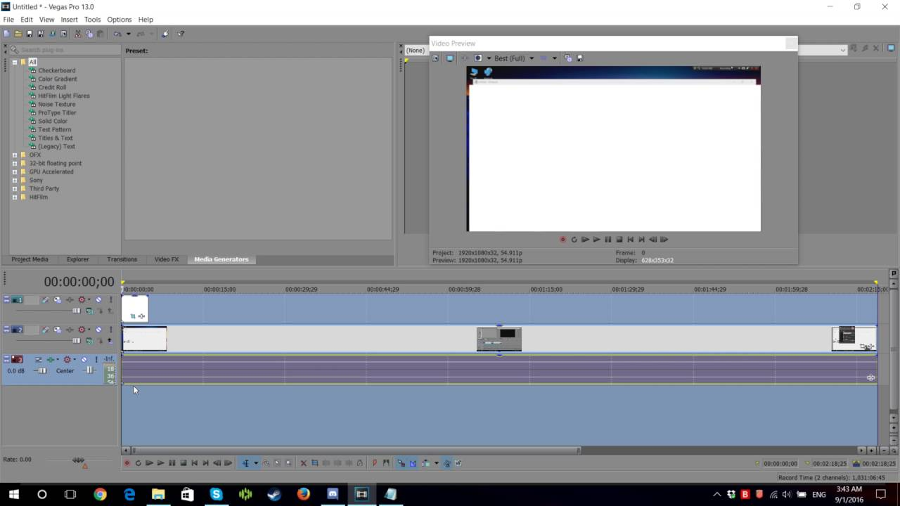 How To Unlink Video Track From Its Audio Track  Sony Vegas Pro 13