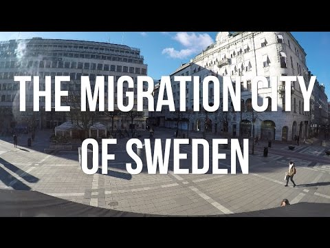 THE CITY THAT SEES THE MOST MIGRANTS
