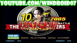 [APK] The King of Fighters 10th Anniversary 2005 Unique Para Android [Sin Necesidad de Emulador]