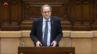 """Torra: """"Se decidirá entre república catalana o monarquía española"""""""