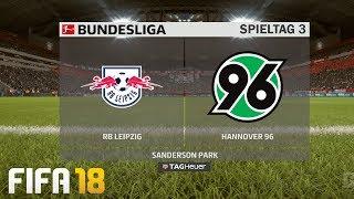 ⚽ FIFA 19 Bundesliga RB Leipzig : Hannover 96 🏆 Gameplay Deutsch Livestream