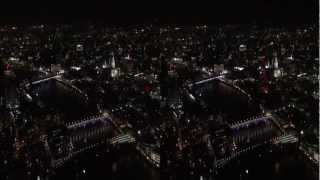 The View from The Shard in 3D