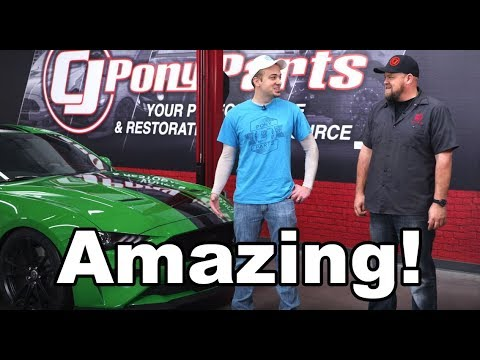 CJ Pony Parts Took My  Ford Mustang GT... AND DID THIS!!!