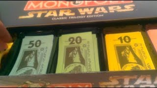 Star Wars Classic trilogy monopoly review