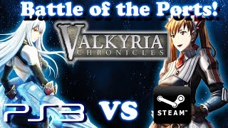 [Battle of the Ports] - Valkyria Chronicles - Playstation 3 vs PC(Steam)