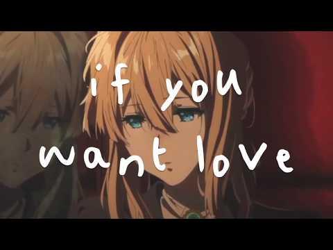 Nightcore → If You Want Love (NF/Lyrics)