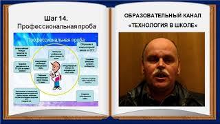Технология в школе (выпуск 32).  8 класс.  Профориентация (шаги 13-15)