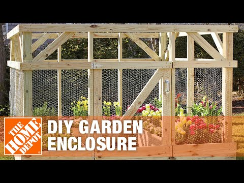 diy-garden-enclosure-|-how-to-keep-animals-out-of-your-garden-|-the-home-depot