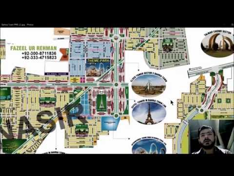 Understand Bahria Town Multan Lahore Map from PMS Property Management Services