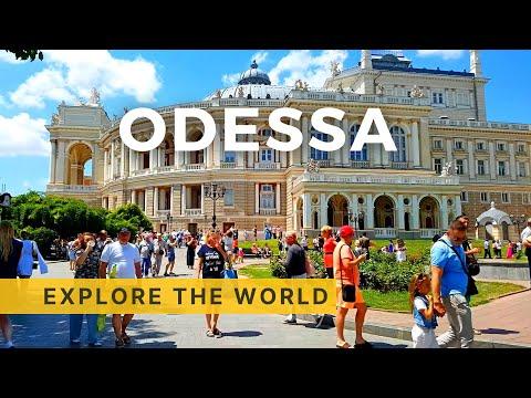 🇺🇦 Exploring ODESSA 4K - walking and bus tour, Ukraine