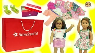 American Girl, Our Generation, My Life As Dolls Giant Clothing Haul Try On Video