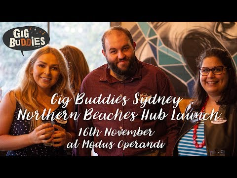 Gig Buddies Northern Beaches Hub Launch Party