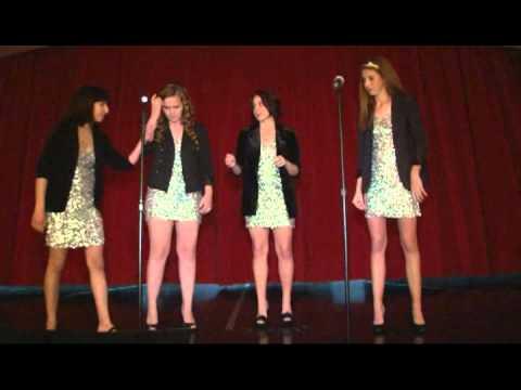 Female Barbershop Quartet from Coronado High School in Las Vegas Nevada The Unicorns