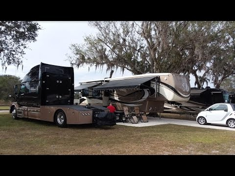Tour of Peace River RV Campground and Golfing in Wauchula FL