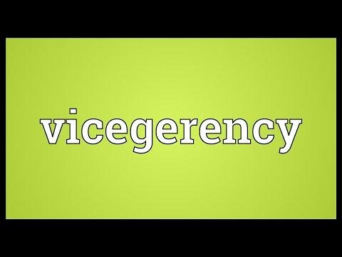 Header of vicegerency