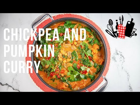 Chickpea And Pumpkin Curry | Everyday Gourmet S9 EP33