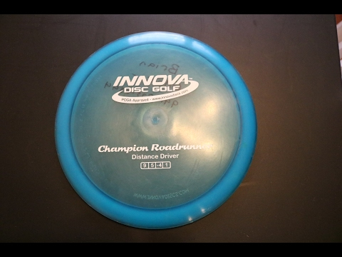 Disc golf-Champion Roadrunner Review