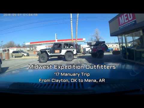 K-Trail from Clayton, OK to Mena, AR