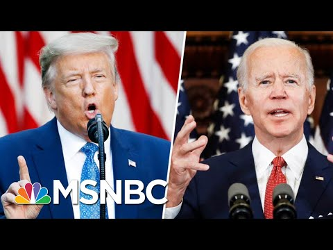 Trump Mocks Joe Biden For 'Listening To The Scientists' | Morning Joe | MSNBC