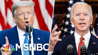 Trump Mocks Joe Biden For 'Listening To The Scientists' | Morning Joe | MSNBC